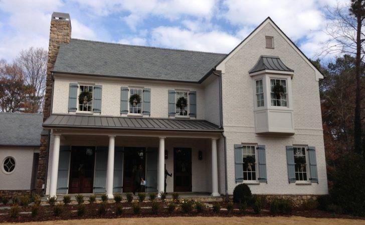 White Brick Homes Design Ideas