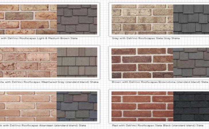 White Brick Houses Exterior Siding Color