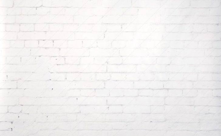 White Brick Wall Backdrop