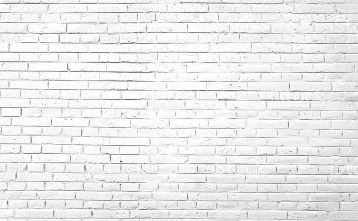 White Brick Wall Concrete