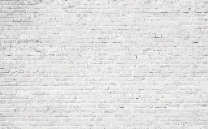 White Brick Wall Tumblr Mural