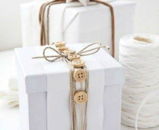 White Gift Wrap