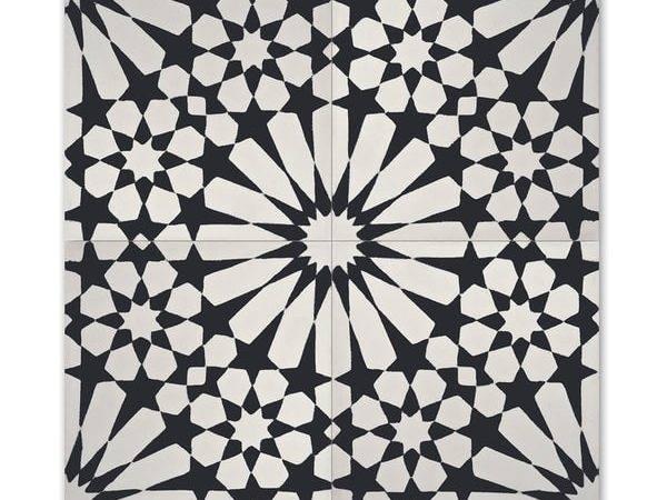 White Handmade Cement Granite Inch Floor Wall Tile