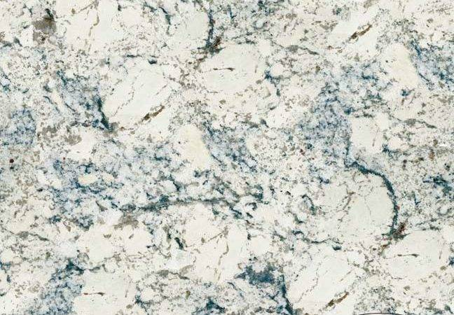 White Ice Granite Kitchen Countertop Ideas