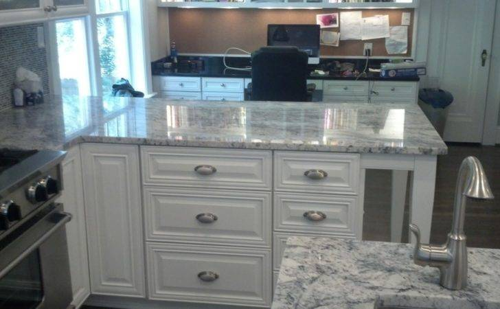 White Ice Granite Kitchen None Nbsp