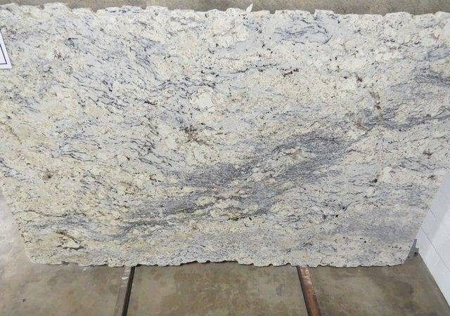 White Ice Granite Modern Kitchen Countertops Atlanta Stone