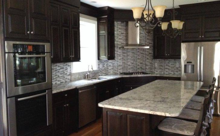 White Ice Kitchen Pinterest Grey Subway Tiles Countertops
