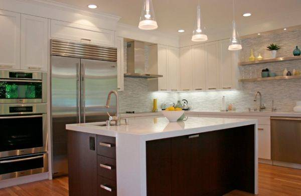 White Kitchen Cabinetry Does Not Mean Bland