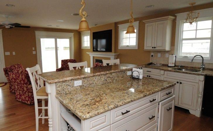 White Kitchen Cabinets Granite Countertops Photos