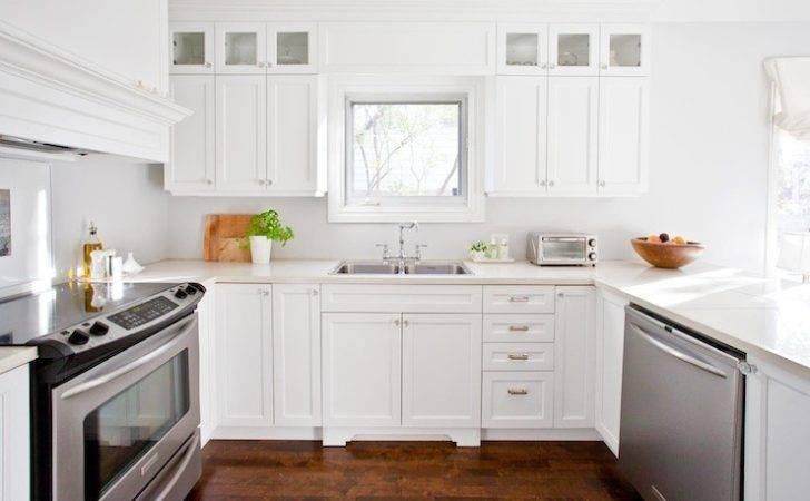 White Kitchen Design Transitional Lux Decor