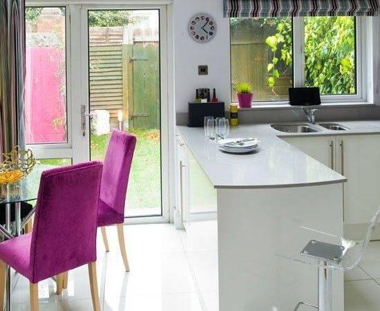 White Lacquered Kitchen Diner Pinhome Design