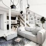 White Loft Apartment Bachelor Paradise Adorable Home