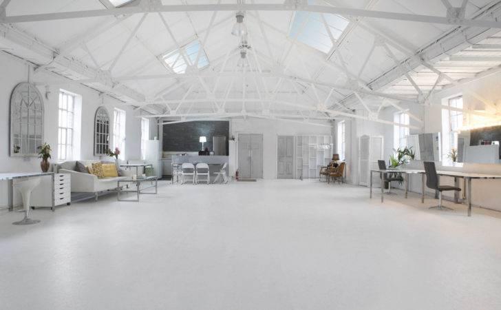 White Loft Lumiere London