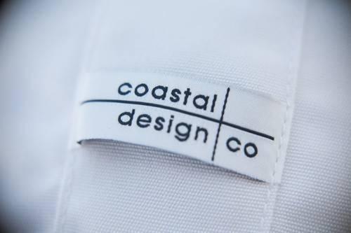 White Sunbrella New Cristo Collection Coastal Design