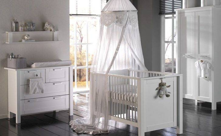 White Themed Baby Room Time Holidays