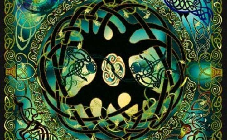Wiccan Journey Celtic Tree Life
