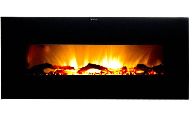 Wide Screen Wall Hanging Electric Fireplace Vwwf Ebay
