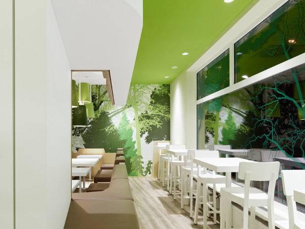 Wienerwald Restaurant Modern Design Munich