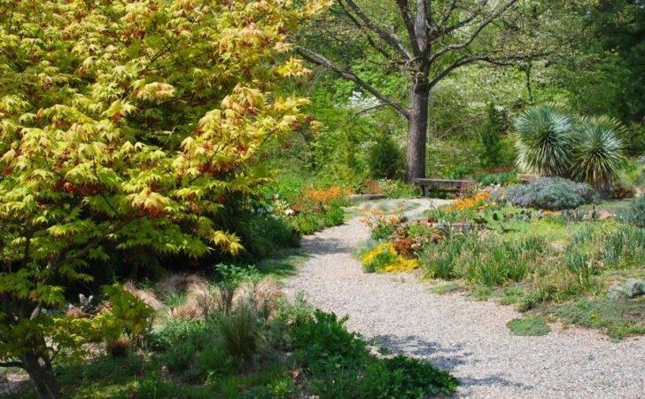 Wife Mother Gardener Chanticleer Gravel Garden Spring
