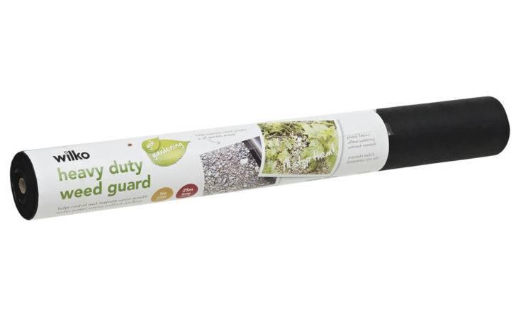 Wilko Heavy Duty Weed Guard Black