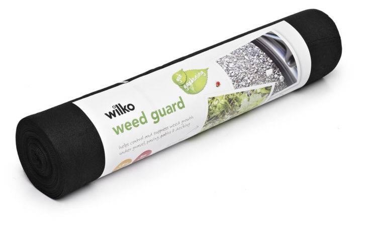 Wilko Weed Guard Black