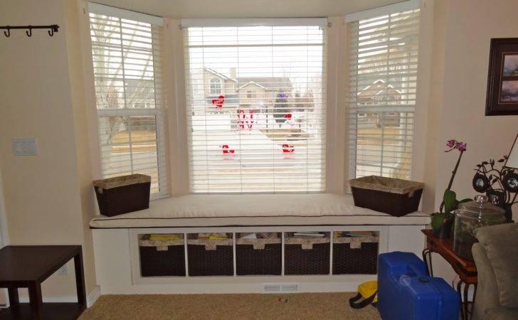 Window Bench Seat Ideas Bay Sizes Storage Plans Corner