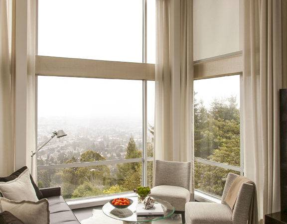Window Covering Solutions Motorized Shades Oversized Windows