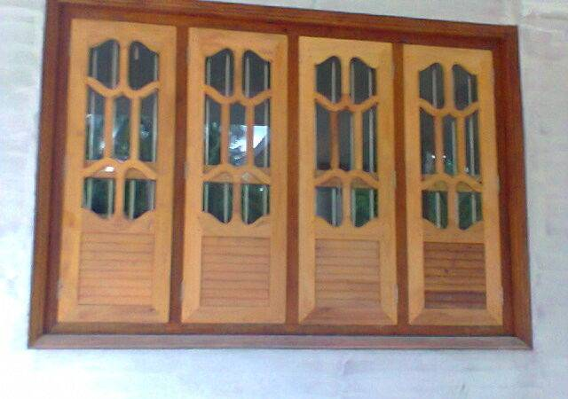 Window Designs Homes Kerala Style Carpenter Work Ideas