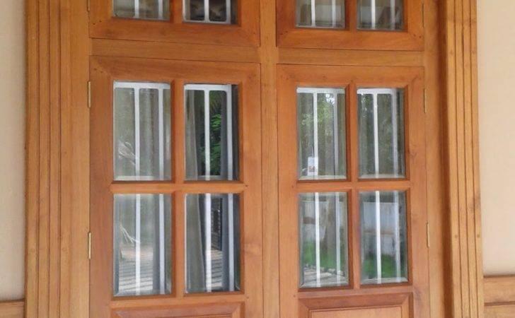Window Designs Homes Kerala Style Carpenter Works