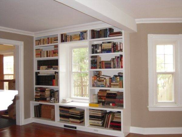 Window Seat Bookcase Dreamy Bookcasey Things Pinterest