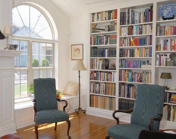 Window Seat Bookcases Home Pinterest