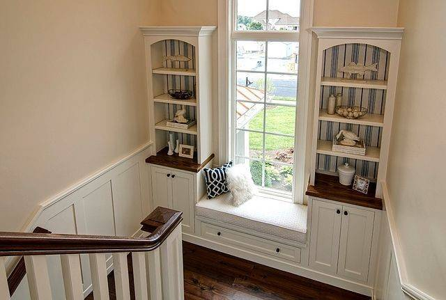 Window Seat Bookcases Home Sweet Pinterest