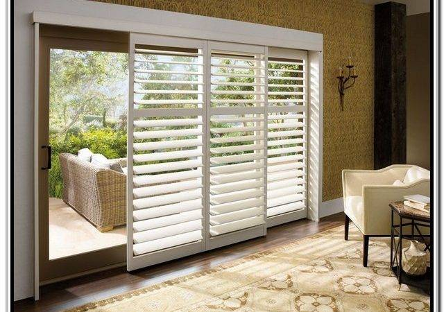 Window Treatment Ideas Sliding Glass Doors Hunter Douglas