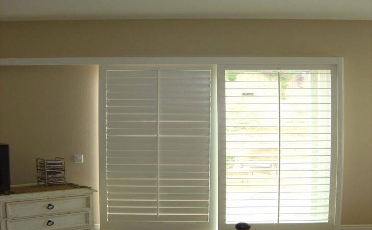 Window Treatment Ideas Sliding Glass Doors Kitchen Pantry Shed