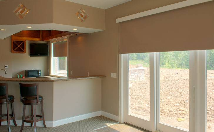 Window Treatment Ideas Sliding Glass Doors Kitchen