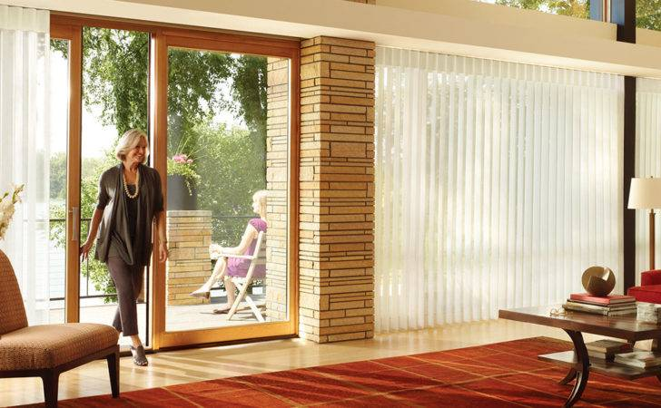 Window Treatment Ideas Sliding Glass Doors Treatments Bath