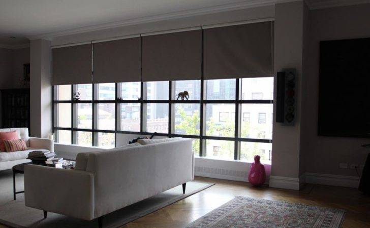 Window Treatments Large Windows Blinds