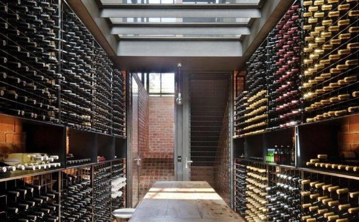 Window Wine Cellar House Ideas Home Bar Interior Design
