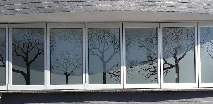 Windows Art Glass Door Window Signage Apartment