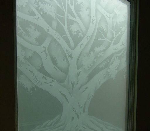 Windows Frosted Glass Designs Privacy Mediterranean Bathroom