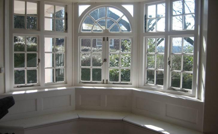 Windows White Bay Window Seat Design Ideas