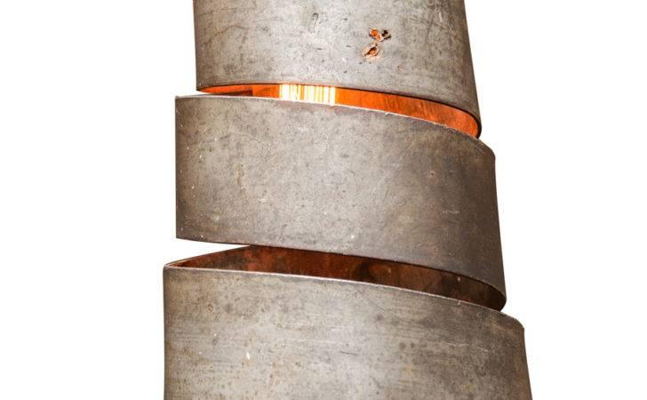 Wine Barrel Furniture Lighting Spiral