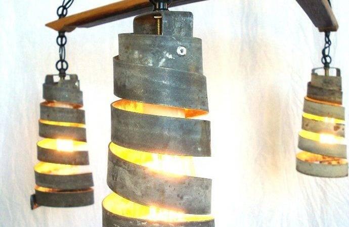 Wine Barrel Light Lights Pinterest