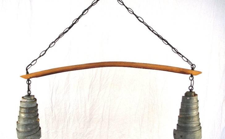 Wine Barrel Ring Hanging Pendant Light Winecountrycraftsman