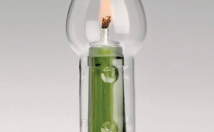 Wine Bottle Candle Flame Protector