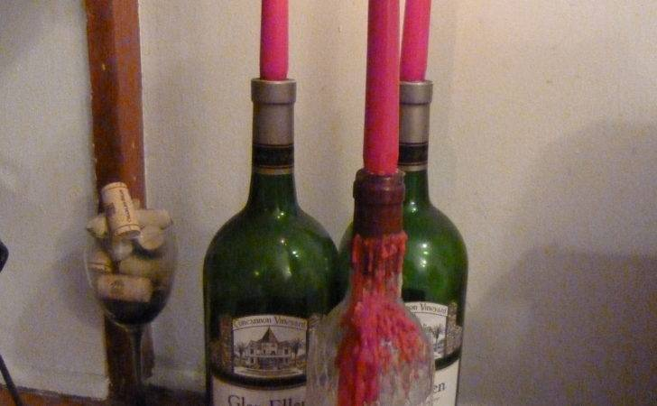 Wine Bottle Candle Holder Ideas Guide Patterns