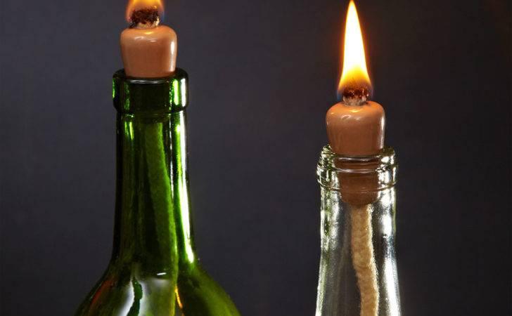 Wine Bottle Candle Wicks Set