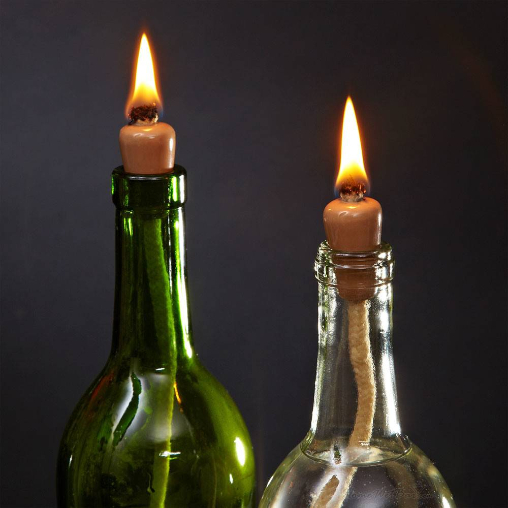 Wine Bottle Candle Wicks Set