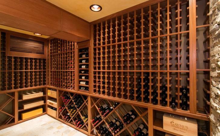 Wine Cellar Designs Custom Built Traditional