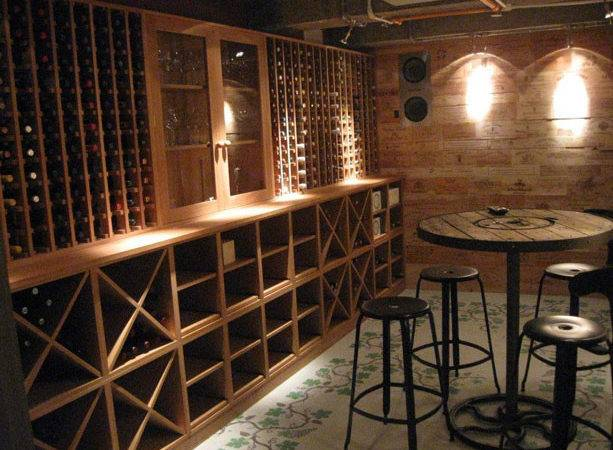 Wine Cellar Fitted Furniture Home